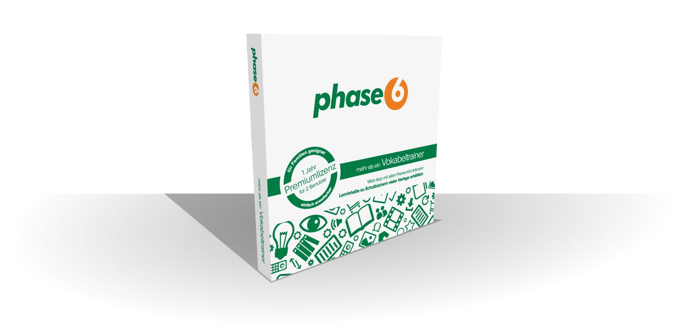 Die phase6 Startbox aus dem Buchhandel