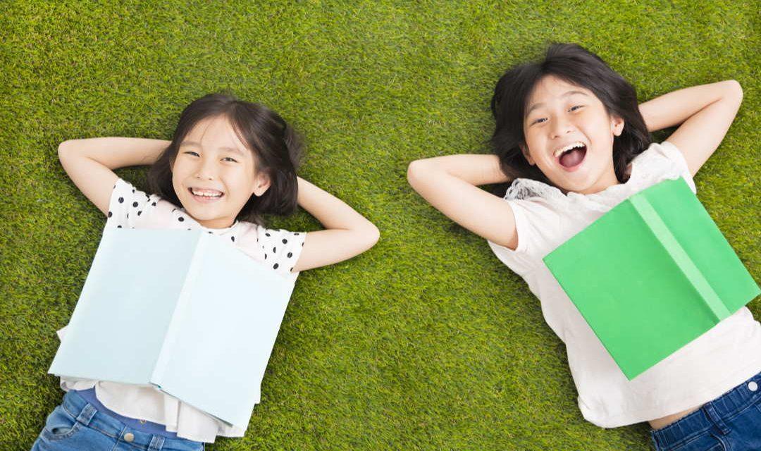 Lachen und Lernen: ein gutes Team