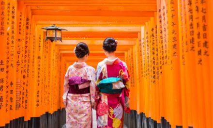 Die Fülle der japanischen Schriftzeichen