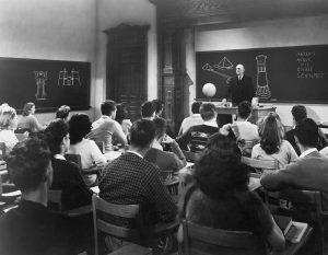 Klassenzimmer um 1940