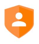 Datenschutz-Schild