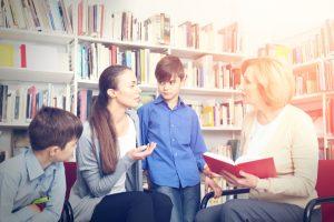 Elterngespräch mit der Lehrkraft