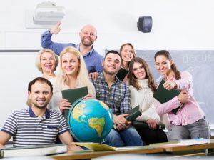 Team aus Lehrerinnen und Lehrern