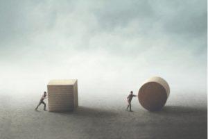 zwei unterschiedliche Probleme und Lösungswege