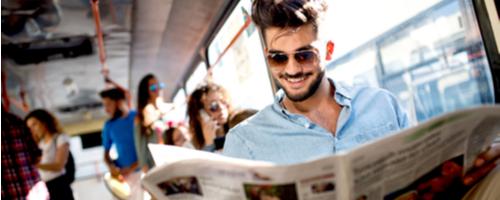 Die Sprachzeitung: Englisch lernen und auf dem Laufenden bleiben