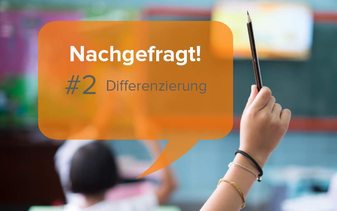 Differenzierung im Unterricht