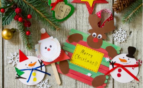 Bastelritual zur Weihnachtszeit