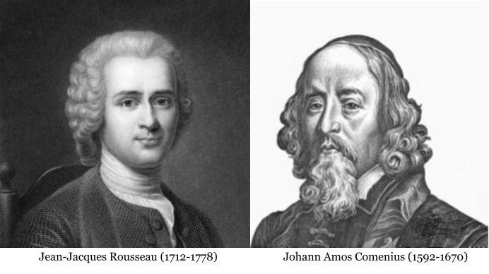 Rousseau und Comenius