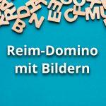 Reim-Domino mit Bildern
